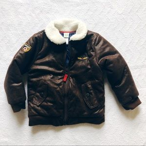 3T Brand New Aviator Puffer Coat